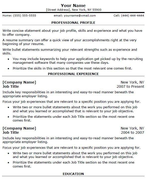 Resume 16